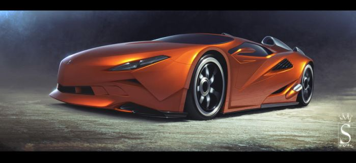 concept car by SaphireDesign