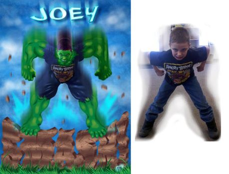 JOEY SMASH! by g-technical