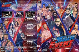 WWE Main Event 2013 October DVD Cover by Chirantha