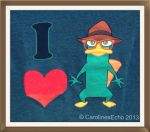 I Love Perry the Distinguished Platypus by CarolinesEcho