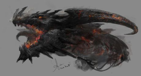 Flame Dragon by LeeKent