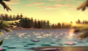 Winx club background lake by Dream56