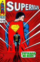 Superman No More by LarryKingUndead
