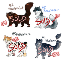 Cat Adoptables Batch 2 [SOLD] by Machati