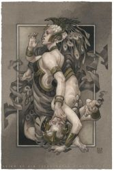 Reign of Sin: Queen of Clubs (Pride) by wylielise