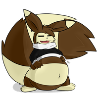 Ze Chubby Furret by Purple-Salem