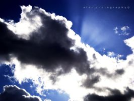 Sky Blue Sky by Afer-Photography