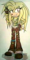 RQ- Ivy the Echidna by Sky-The-Echidna