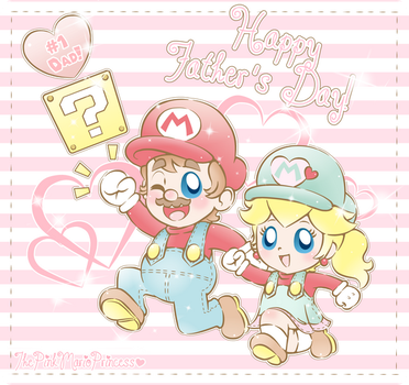 .~Happy Father's Day!~. by ThePinkMarioPrincess