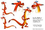 Mushu model by EmpressHelenia