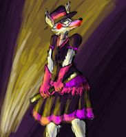 FNaF Magic Show Au (Mangle) by The-First-Noel
