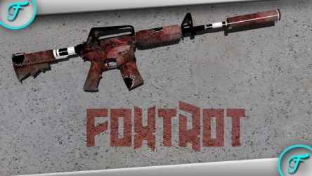 M4A1-S FoxTrot by RusticDusty