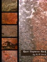 Rust Textures Pack by ALP-Stock