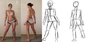 Character Design: BUILDING THE FIGURE by lily8718