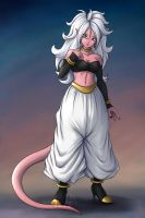 Android 21 (good) by Teira-Nova