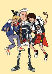 Bill and Ted and Cable by ChurnObill