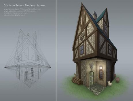 Medieval house by CristianoReina