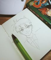 Shinichi Kudo by DavidPan