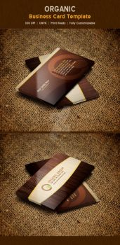 Organic Nature Business Card Template by ExtremeLogo