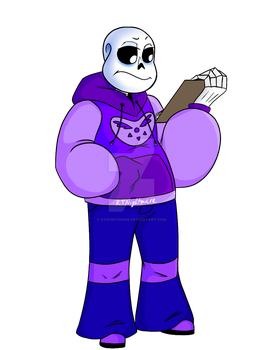 CT!Sans: Before Balance by RTNightmare