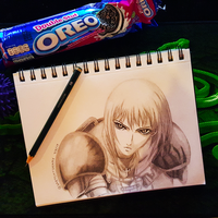 Clare - Claymore by sketchygerry