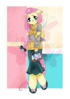 Fluttershy Antro by FierRequin
