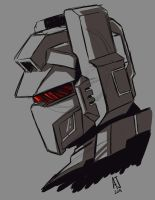 Grimlock Sketch by AJSabino