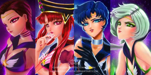 Sailor Starlights by gabrielleandhita