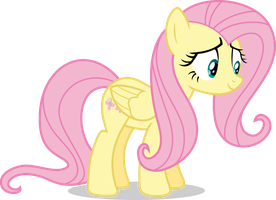 Mlp Fim fluttershy (happy #2) vector by luckreza8