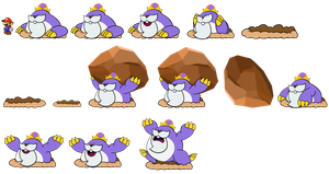 King Montgomery page 2 (Paper Mario Style) by DerekminyA