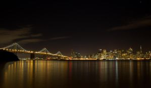 San Francisco at Night by rennfahrer