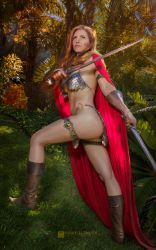 Red Sonja by Jacqueline Goehner III by wbmstr