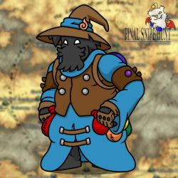 Black Mage Hazard by professorhazard