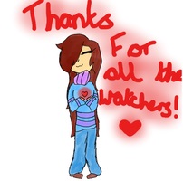 Thanks for all the watchers! ^^ by UnderTaleMettatonNEO