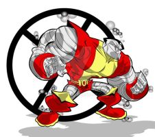 colossus by kevtoons