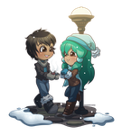 [C-S] Warm in the Snow by wandering-kotka