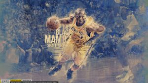 Kobe Bryant Black Mamba Wallpaper by IshaanMishra
