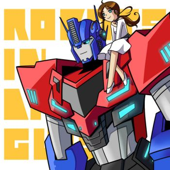 Comm: Optimus x Elena by Evelynism