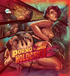 Porno Holocaust LP cover by WacomZombie