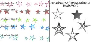 Clip Studio Paint (Manga Studio 5) Brush Pack 2 by Katarina-Kirishiki