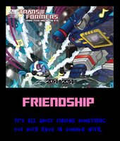 Friendship Motivational II by MetroXLR