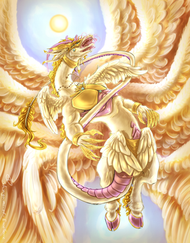 Lucemon Holy Mode by Excellency-Shinigami