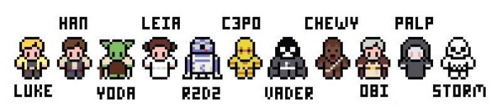 Star Wars 2D Game Sprites by firefly-R