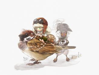 Sparrow delivery. by paeng
