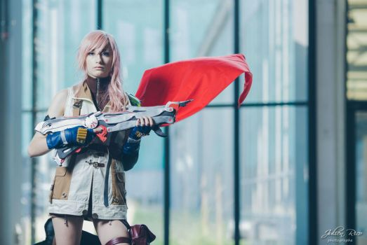 Lightning Cosplay - Ready for fight. by cyberlight