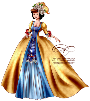 Court of Versailles - Snow White by selinmarsou