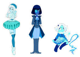 Blue Gemsonas (5usd/500 points) CLOSE by StarAdoptsADL