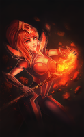 Elementalist Lux - Magma by TMiracle