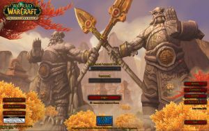 MoP Beta Login Screen by Imerei