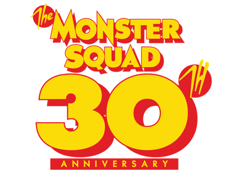 Monster Squad 30th Anniversary Logo by Jarvisrama99